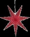 Star Trading Antique - Stern hängend - 60x60cm - rot