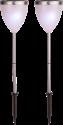 STAR TRADING Solar Energy Garden Sticks -  2 Pièces - Violet