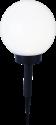 STAR TRADING Solar Energy Boule Lampe - 20 cm - Blanc