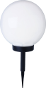 STAR TRADING Solar Energy Boule Lampe - 25 cm - Blanc
