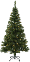 Star Trading Ottawa - sapin de Noël LED -180x100cm - vert