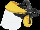 McCulloch PRO004 - Gehörschutz mit Kunststoffvisier - Gelb/Schwarz