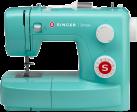 SINGER Simple 3223G - Machine à coudre bras libre - 23 programmes de points - Vert