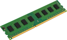 Kingston ValueRAM - Memoria principale - 4 GB (DDR3 SDRAM / 1333 MHz) - Verde/Nero