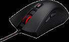 HyperX Pulsefire FPS - Mouse per il gaming - 400/800/1600/3200 dpi - Nero