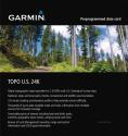 GARMIN TOPO US 24K Südwesten Sud-ovest - Mappa per navigatio - Sulla DVD