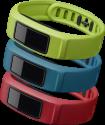 GARMIN vívofit 2 Armbänder - L - Grün/Rot/Blau