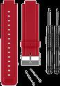 Garmin Cinturini di silicone - per vívoactive - Rosso