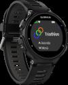 GARMIN Forerunner® 735XT - GPS-Multisport Uhr - 3.11 cm (1.23) - Schwarz