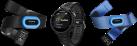 GARMIN Forerunner® 735XT - GPS-Multisport Uhr - Tri Bundle - Schwarz/Blau