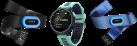 GARMIN Forerunner® 735XT - GPS-Multisport Uhr - Tri Bundle - Türkis/Blau