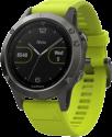 GARMIN fenix 5 - Smartwach - Mit Herzfrequenzmessung - Grau/Gelb