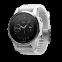 GARMIN fenix 5S - Smartwach - Mit Herzfrequenzmessung - Silber/Weiss