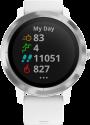 GARMIN vívoactive® 3 - GPS-Smartwatch - Mit integrierten Sportapps - Weiss/Edelstahl