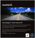 GARMIN City Navigator South America NT - Carte pour GPS - In carte microSD/SD - Coloré