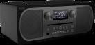 PURE Evoke C-D6 - All-in-One-Musiksystem - Bluetooth - Schwarz