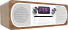 Pure Digital Evoke C-D6 - Stereo-All-in-One-Mikroanlage mit CD - DAB/DAB+ - Wallnuss