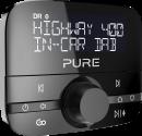 Pure Digital Highway 400 - Auto-digitalradio-adapter - DAB/DAB+ - Schwarz