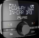Pure Digital Highway 600 - Auto-Digitalradio-Adapter - DAB/DAB+ - Schwarz