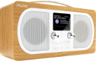 Pure Digital Evoke H6 - Stereo UKW-Radio - DAB/DAB+ - Eiche