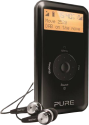 Pure Digital Move 2520 - Radio rechargeable - DAB/DAB+/DMB-R - Noir