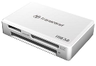 Transcend Multi-Card Reader RDF8, bianco