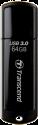 Transcend JetFlash 700, 64 GB, schwarz
