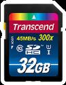 Transcend SDHC Class 10 UHS-I (Premium) Flash-Speicherkarte, 32 GB