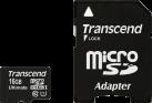 Transcend microSDHC Ultimate 600x, 16 GB, con adattatore