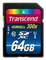 Transcend Premium Flash-Speicherkarte, 64 GB