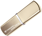 Transcend JetFlash 820G, 64 GB, champagnergold