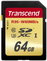 Transcend Ultimate Scheda di memoria flash, 64 GB, R95, W60MB/s