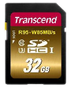 Transcend Ultimate Carte mémoire flash, 32 Go