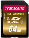 Transcend Ultimate Flash-Speicherkarte, 64 GB
