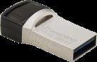 Transcend JetFlash 890 - USB Stick - 64 GB - Silber