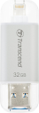 Transcend JetDrive Go 300 - USB Stick - 32 GB - Silber