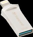Transcend JetDrive Go 500 - USB Stick - 32 GB - Silber