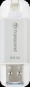 Transcend JetDrive Go 300 - USB Stick - 64 GB - Silber