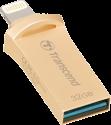 Transcend JetDrive Go 500 - USB Stick - 32 GB - Gold