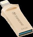 Transcend JetDrive Go 500 - USB Stick - 64 GB - Gold