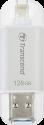 Transcend JetDrive Go 300 - Port USB - 128 Go - Argent