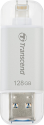 Transcend JetDrive Go 300 - Chiavetta USB - 128 GB - Argento