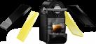 TURMIX Nespresso TX 160 PiXie Clips, Schwarz/Gelb