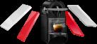 TURMIX Nespresso TX 160 PiXie Clips, Weiss/Rot