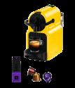 KOENIG Nespresso-Maschine Inissia - Fassungsvermögen: 9–11 Kapseln - Leistung: 1260 W - Gelb