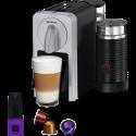 KOENIG Prodigio & Milk Silver - Machine à café Nespresso - Bluetooth - Noir/Gris