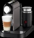 Nespresso Turmix Citiz&Milk, silber