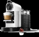 Nespresso Koenig Citiz&Milk, weiss