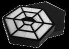 Trisa - Hepa Filter Set zu 9445 - Schwarz / Weiss