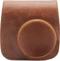 FUJIFILM Instax Mini 90 Leather Case - Custodia di cuoio per Instax Mini 90 - marrone